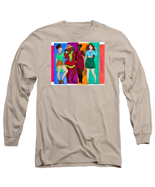 Squad Long Sleeve T-Shirt by Diamin Nicole