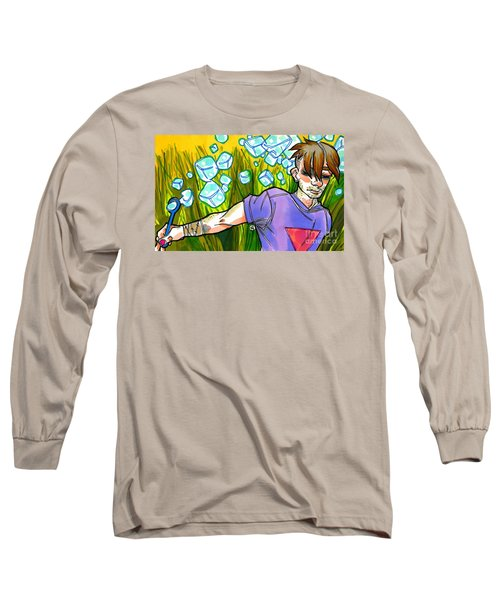 Square Peg Long Sleeve T-Shirt