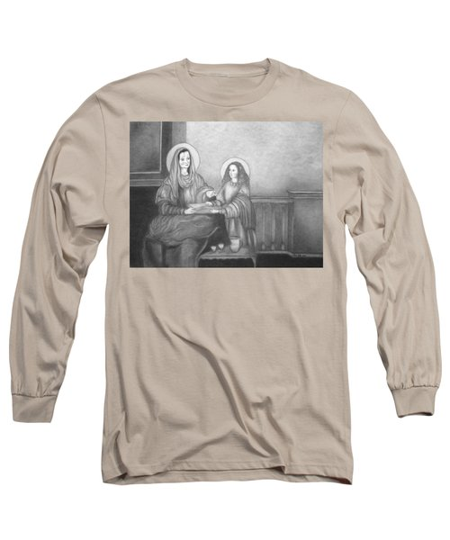 St. Anne And Bvm Long Sleeve T-Shirt