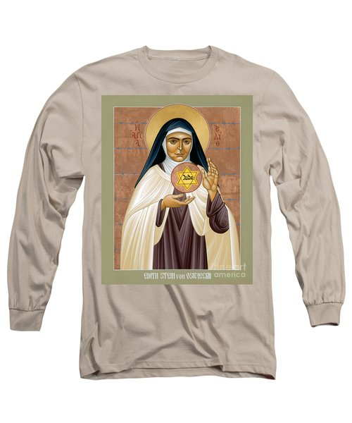 St. Edith Stein Of Auschwitz - Rleds Long Sleeve T-Shirt