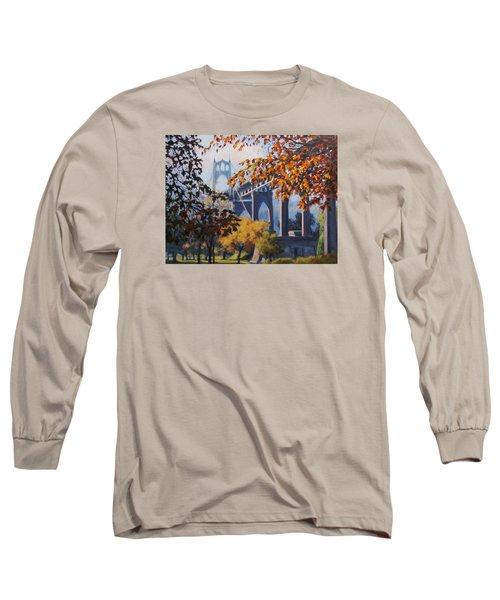 St Johns Autumn Long Sleeve T-Shirt by Karen Ilari