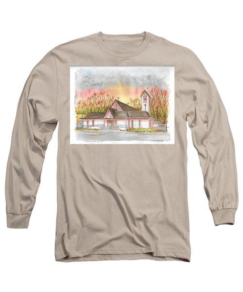 St. Malachy Church, Tehachapi, California Long Sleeve T-Shirt