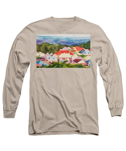 St. Martin Rooftops Long Sleeve T-Shirt