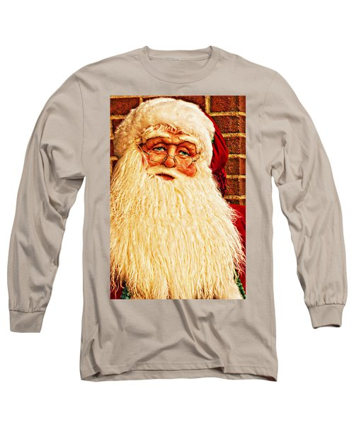 St. Nicholas Melting Canvas Photoart Long Sleeve T-Shirt