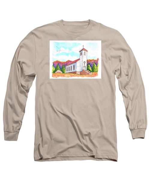 St. Peter's Catholic Church, Fayette, Mi Long Sleeve T-Shirt by Carlos G Groppa