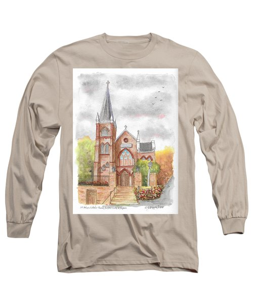 St. Peter's Catholic Church, Harpers Ferry, West Virginia Long Sleeve T-Shirt