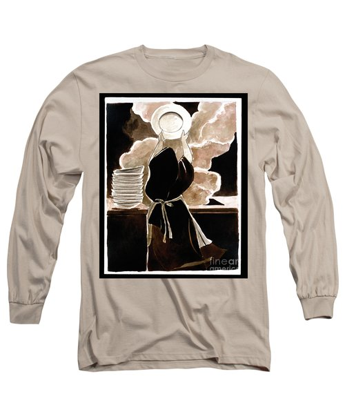 St. Therese Doing The Dishes - Mmdtd Long Sleeve T-Shirt