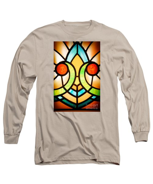 Stained Glass Detail Long Sleeve T-Shirt