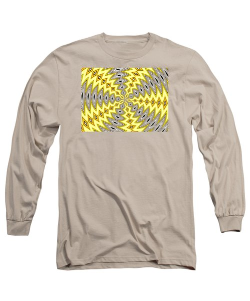Long Sleeve T-Shirt featuring the photograph Stained Glass Kaleidoscope 18 by Rose Santuci-Sofranko