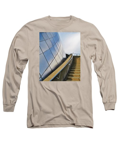 Staircase To Sky Long Sleeve T-Shirt by Martin Cline