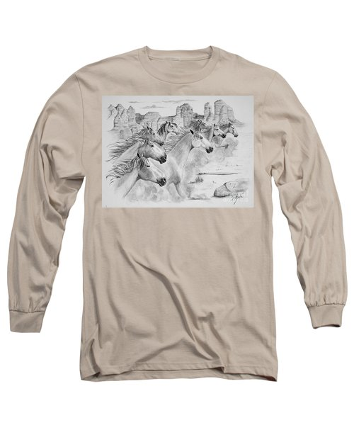 Stampede In Sedona Long Sleeve T-Shirt