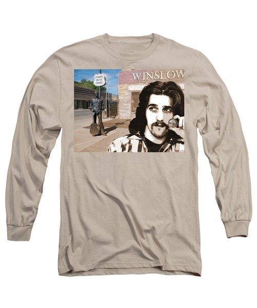 Standin On The Corner Long Sleeve T-Shirt