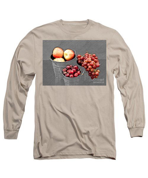 Long Sleeve T-Shirt featuring the photograph Standing Out As Fruit by Sherry Hallemeier