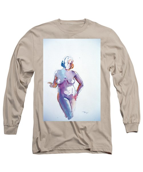 Standing Study Long Sleeve T-Shirt