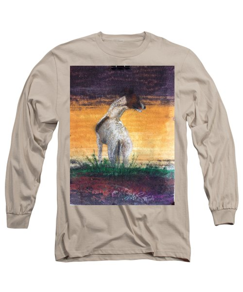 Standing Tall Long Sleeve T-Shirt by William Renzulli
