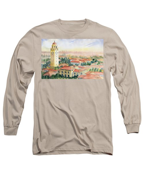 Stanford University California Long Sleeve T-Shirt by Melly Terpening