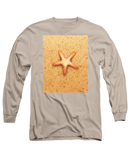 Star Fish Long Sleeve T-Shirt by Katherine Young-Beck