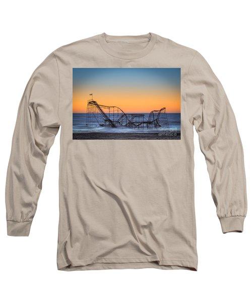 Star Jet Roller Coaster Ride  Long Sleeve T-Shirt