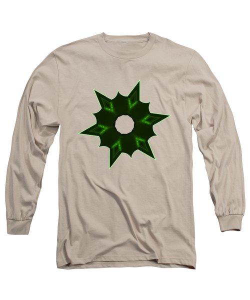 Star Record No. 4 Long Sleeve T-Shirt by Stephanie Brock