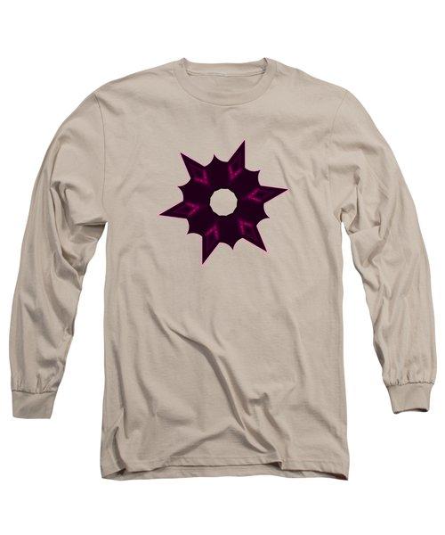 Star Record No. 7 Long Sleeve T-Shirt by Stephanie Brock