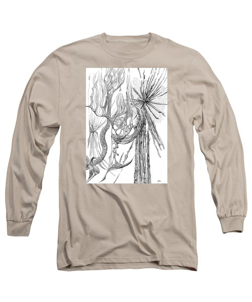 Starburst Long Sleeve T-Shirt by Charles Cater