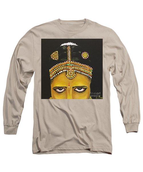 Stare Long Sleeve T-Shirt by Brindha Naveen