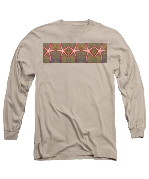 Starfish Pattern Bar Long Sleeve T-Shirt