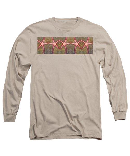Starfish Pattern Bar Long Sleeve T-Shirt