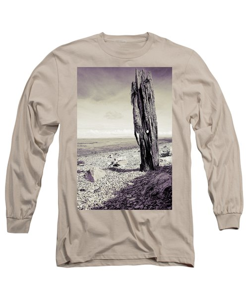 Long Sleeve T-Shirt featuring the photograph Stark Reality by Keith Elliott
