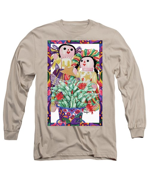 Starring The Christmas Cactus Long Sleeve T-Shirt