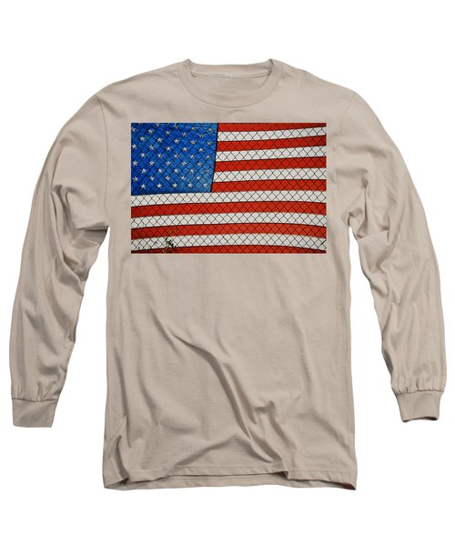 Stars And Stripes  Long Sleeve T-Shirt