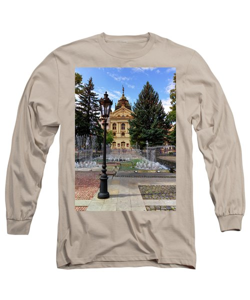 State Theater In The Old Town, Kosice, Slovakia Long Sleeve T-Shirt