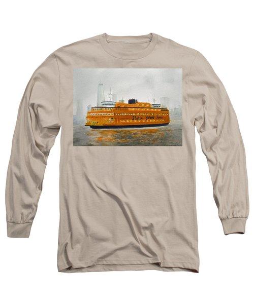 Staten Island Ferry Long Sleeve T-Shirt