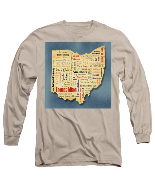 States - Famous Ohio Long Sleeve T-Shirt