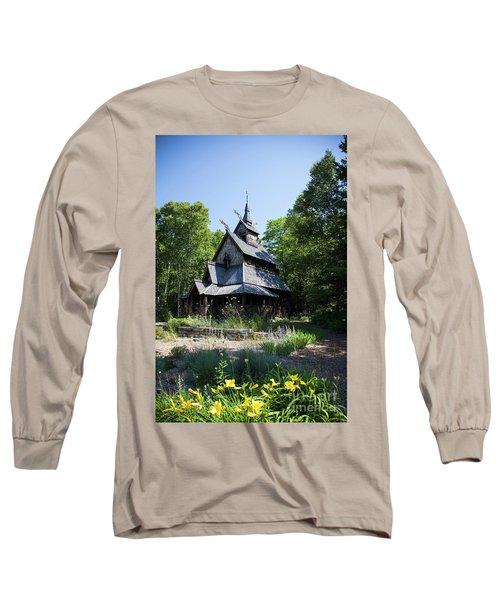 Stavkirke Church Long Sleeve T-Shirt