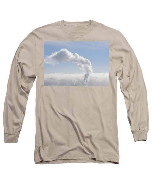 Steam Long Sleeve T-Shirt by Keith Armstrong