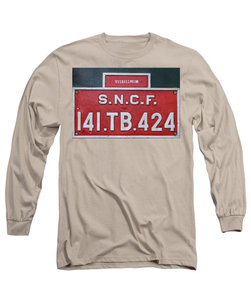 Long Sleeve T-Shirt featuring the photograph Steam Train Series No 38 by Clare Bambers