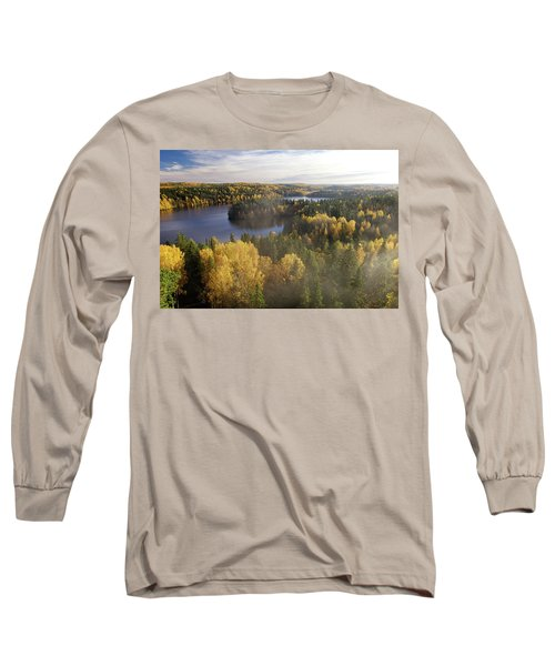 Steamy Forest Long Sleeve T-Shirt