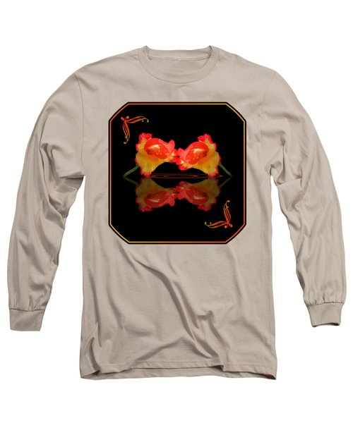Steamy Hot Lips  Long Sleeve T-Shirt