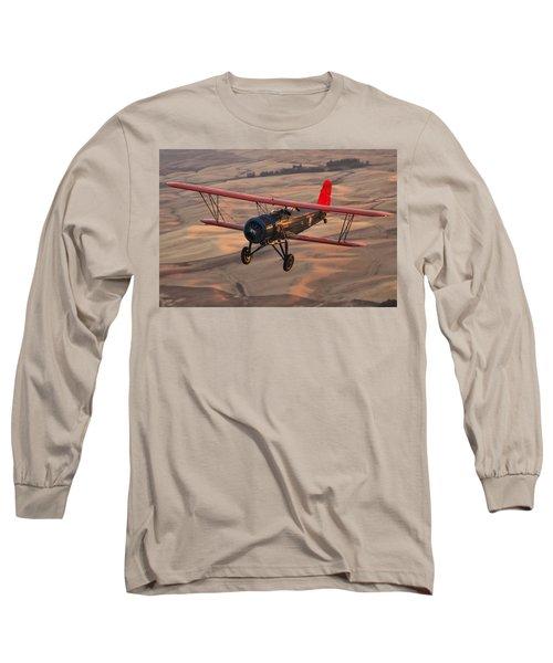Stearman Model 4dm Sr. Speedmail Long Sleeve T-Shirt