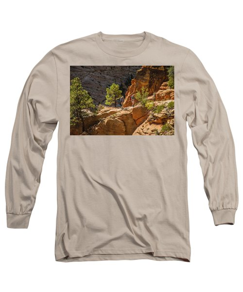 Steeply Up The Canyon Long Sleeve T-Shirt