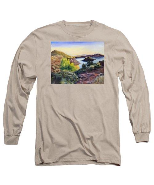Steinaker Long Sleeve T-Shirt by Sherril Porter