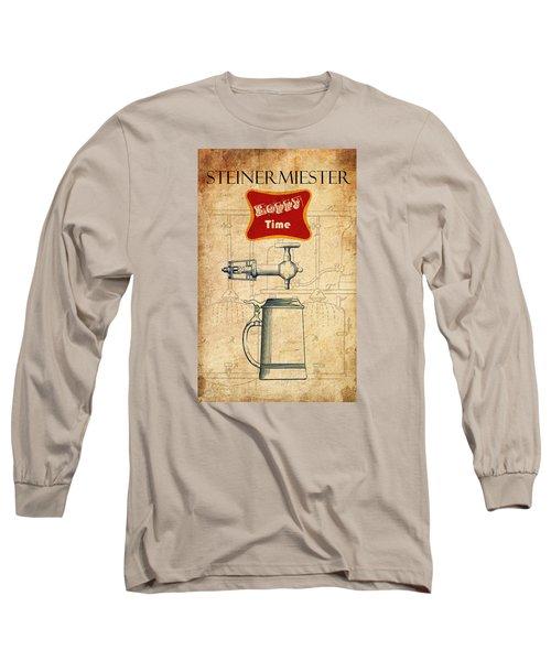 Steinermiester Long Sleeve T-Shirt by Greg Sharpe