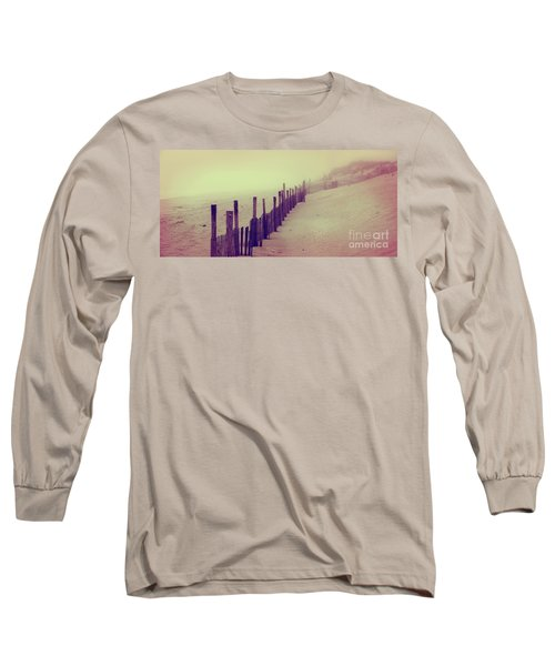 Stepping In A Clouded Dream Long Sleeve T-Shirt