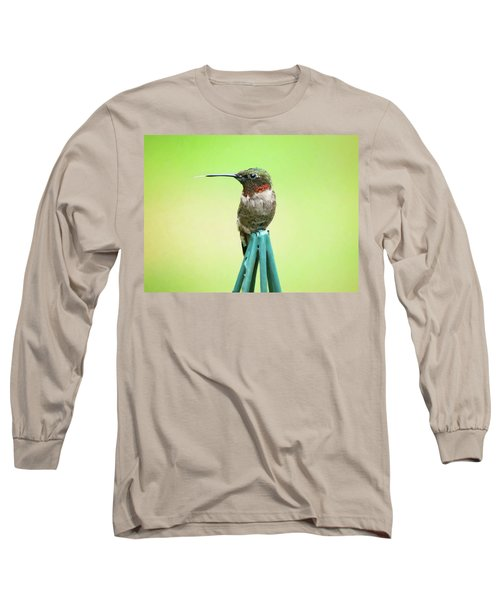 Stick Out Your Tongue Long Sleeve T-Shirt