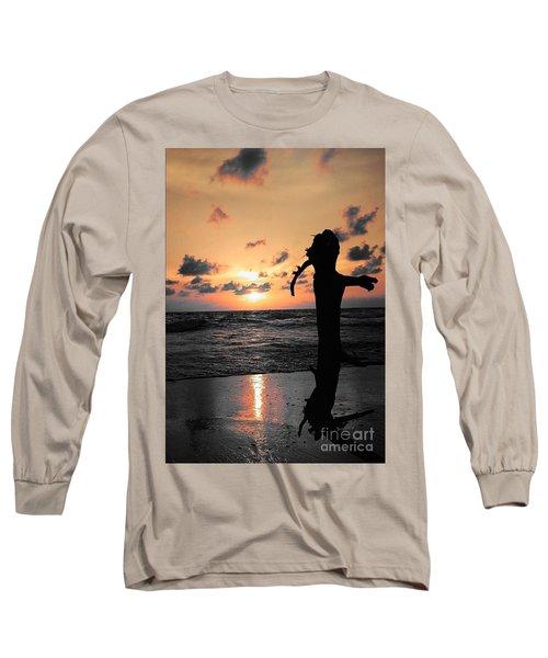 Still By Sea Long Sleeve T-Shirt by Rushan Ruzaick