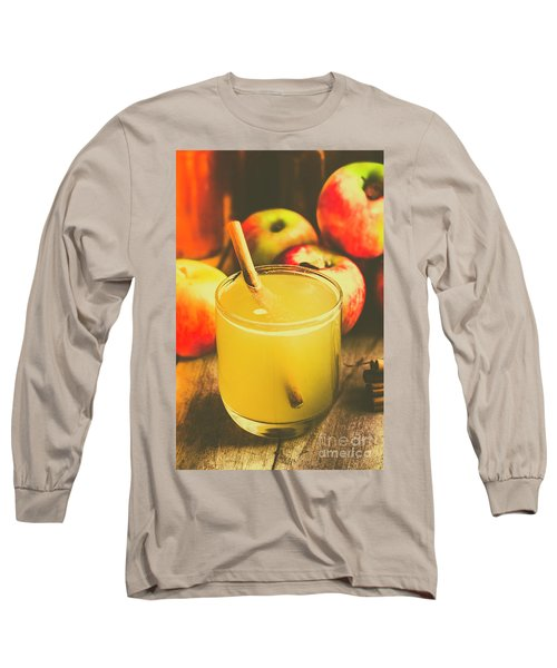 Still Life Apple Cider Beverage Long Sleeve T-Shirt