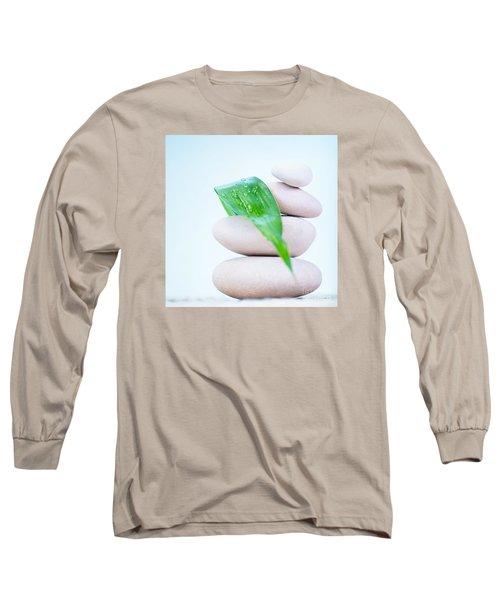 Still Life Of Spa Stones Long Sleeve T-Shirt