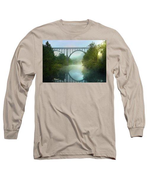 Still Standing Long Sleeve T-Shirt by Rob Blair