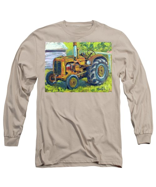 Still Workin' Long Sleeve T-Shirt by William Reed